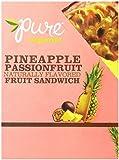 Pure Organic Fruit Sandwich, Passionfruit Pineapple, .63 oz. Bars, 20 Count