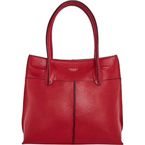 Womens Osprey London Red Tote Bag Ladies