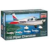 Minicraft Piper Cherokee Airplane Model Kit (1/48 Scale)