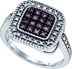 Gift and Jewels - Anneau argent 925 plaqu? or blanc