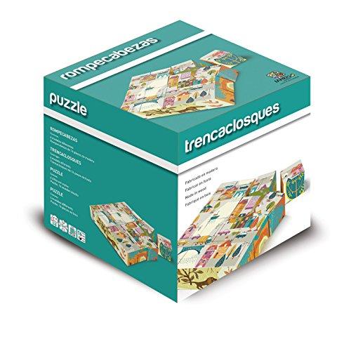 Cartamundi Puzzle Classici, Gioco di Legno per Bambini, Gioco di Società, Rompicapo