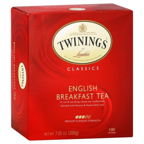 Twinings English Breakfast Tea 100 Bags (Case Of 5)