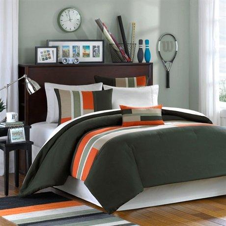 Mizone Pipeline Comforter Set - Green - King/Cal King front-824128