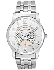 Arzent Fiarti Iconic Series Stylish Multi-Function Chronograph Look Analog Silver Color Dial Watch For Men's AF1023