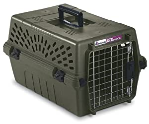 Petmate Deluxe Pet Porter Jr Kennel, Small, Moss Bank