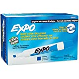 Expo Original Dry Erase Markers, Chisel Tip, 12-Pack, Blue