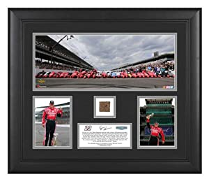 Ryan Newman 2013 Brickyard 400 Race Winner Framed Deluxe Collage with IMS Brick -... by Sports Memorabilia