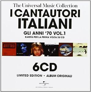 Various Artists - I Cantautori Italiani: Gli Anni 70 V1 - Amazon.com Music