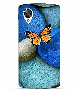 Snazzy Abstract Printed Colorful Hard Back Cover For LG Google Nexus 5X