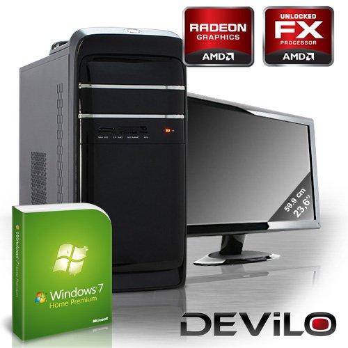 DEViLO PC 1151 - Bundle mit 59.8cm(23,5