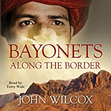 Bayonets Along the Border Audiobook by John Wilcox Narrated by Terry Wale