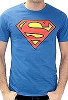 Superman - T-shirt - Imprimé - Col rond - Manches courtes - Homme