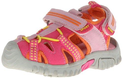 Jumping Jacks The Wave Sport Sandal (Toddler/Little Kid),Hot Pink,27 Eu (9.5 M Us Toddler) front-590275