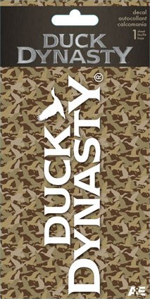 Duck Dynasty White Decal-1 Ct