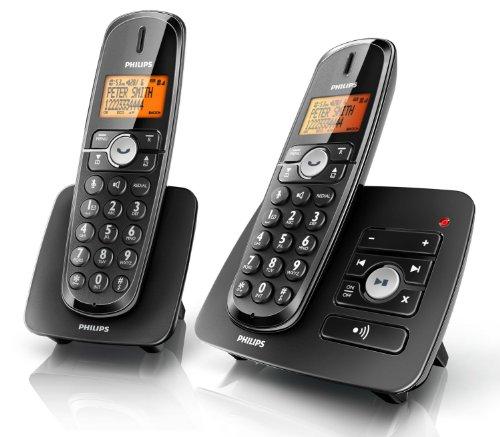 Philips XL3752B - Téléphone sans fil avec appel en instance, identification de l'appelant et répondeur - DECT\GAP - n