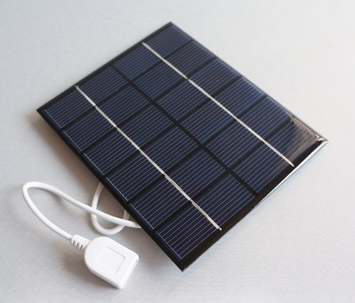 Sunnytech® 2w 6v USB Mini Solar Panel Module Solar System Solar Epoxy Cells Charger DIY - 1