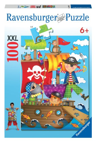Pirate Adventure 100 Piece Puzzle - 1