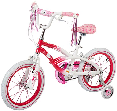 Hello-Kitty-Girls-Bike-PinkWhite-16-Inch