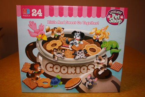 Littlest Pet Shop Puzzle: Little and Sweet Go Together (24 Pieces)