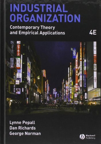 Industrial Organization: Contemporary Theory and...