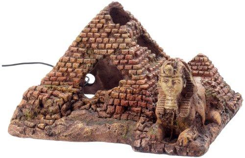 décor aquarium pyramide