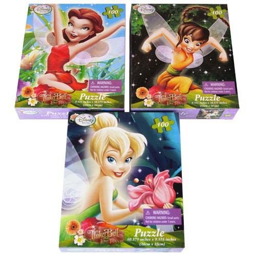 Disney Fairies TinkerBell and the Lost Treasure 100 Pc Puzzle
