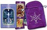 Sensual Wicca Tarot/Tarot de La Sensualidad Wicca [With Embroidered Satin Bag]