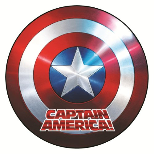 Marvel Captain America Shield Car Magnet
