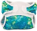 Duraderos de pequeños Bummis Swimmi de tela impermeable y pañales ecológicos (certificación MFi de Apple garantiza de plomo de, de ftalato y de la cada una sin Bisfenol A) para niño del bebé - diseño de las tortugas // funda de sillita para bebés/tod