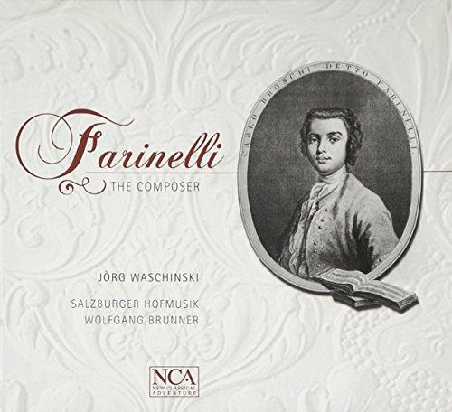 CD : BROSCHI / WASCHINSKI / HOFMUSIK / BRUNNER - Farinelli: The Composer