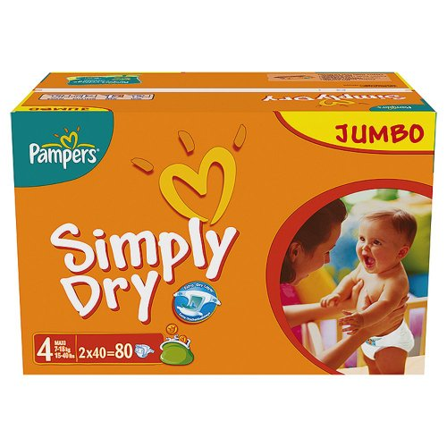 Pampers - 81268026 - Simply Dry Couches - Taille