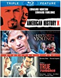 American History X / A History of Violence / True Romance (Triple Feature) [Blu-ray]