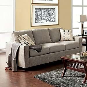 Furniture Of America Madrid Fabric Sofa With