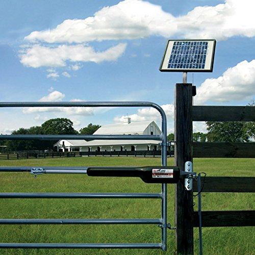 Gate opener watt solar panel kit swing single automatic