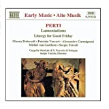 Perti: Sacred Vocal Works Various Artists