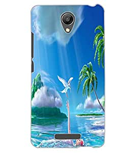 ColourCraft Lovely Image Design Back Case Cover for XIAOMI REDMI NOTE 2