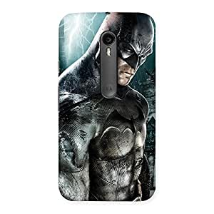 Knight Force Multicolor Back Case Cover for Moto G Turbo