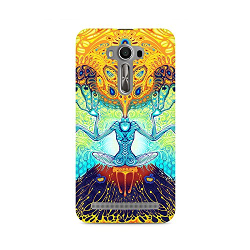 TAZindia Printed Hard Back Case Cover For Asus Zenfone Selfie  available at amazon for Rs.399