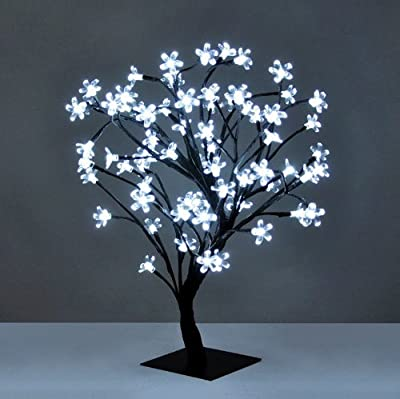 Decorative Bonsai Style Tree Light with 72 LED's - 45cm