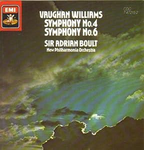 Vaughan Williams: Symphony Nos. 4 & 6 (UK Import)
