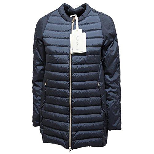 5760N giubbotto donna GEOSPIRIT blu jacket woman [42]