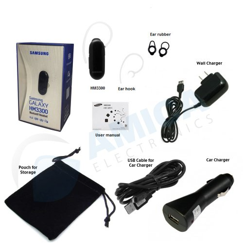 wireless bluetooth headset samsung hm3300 a hands free with import it all. Black Bedroom Furniture Sets. Home Design Ideas