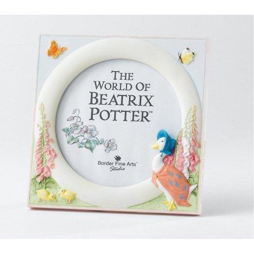 Peter Rabbit And Friends Border Fine Arts - Beatrix Potter - Jemima Puddle Duck Photo Frame front-137700