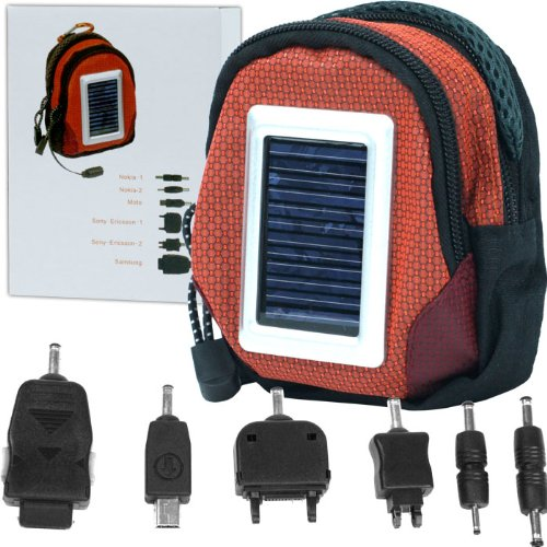 Deluxe Solar Power Charger Bag Cell Phone and