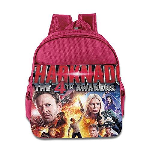 Sharknado 4 The 4th Awakens 1-6 Years Boys Girls BackPack School Bag (Sharknado Fin)