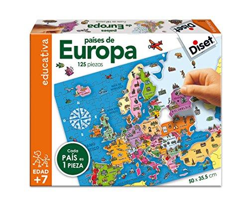 Diset 63639 - Países De Europa