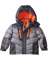 US Polo Association Baby Boys' Hooded Puffer Jacket
