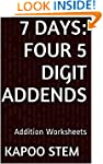 7 Days Math Addition Series: Four 5 D...