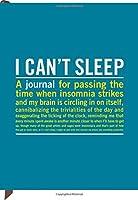 I Cant Sleep Journal
