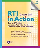 img - for RTI in Action, Grades 3-5: Oral and Written Language Activities for the Common Core State Standards (CCSS) book / textbook / text book